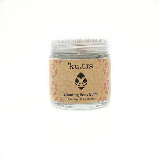 plastic free body moisturiser balancing