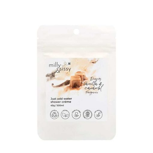 plastic free vanilla body wash