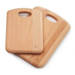 wooden chopping board set of 2