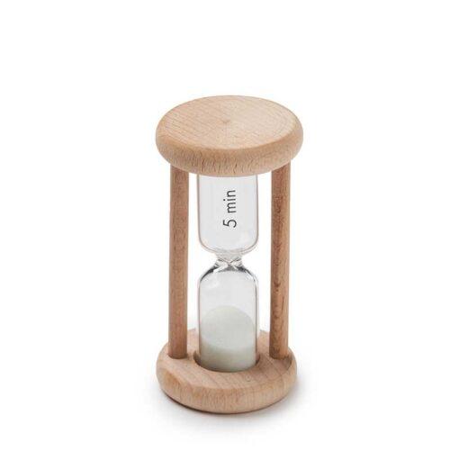 wooden egg timer