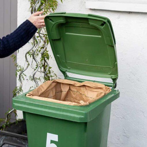 Compostable Wheelie Bin Liners for large wheelie bins