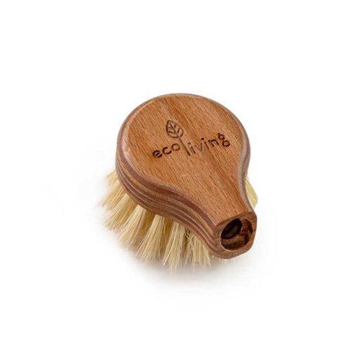 replaceable dish brush head