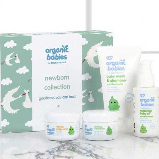 organic baby gift set lifestyle shot