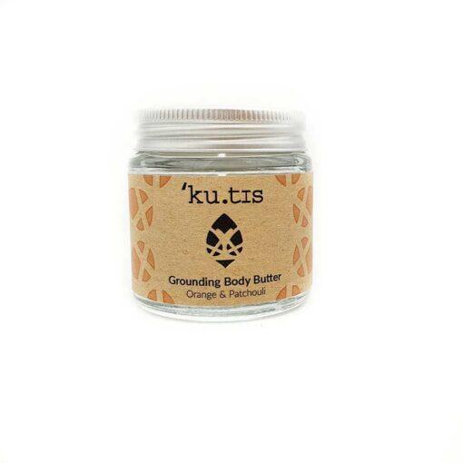 grounding plastic free body moisturiser