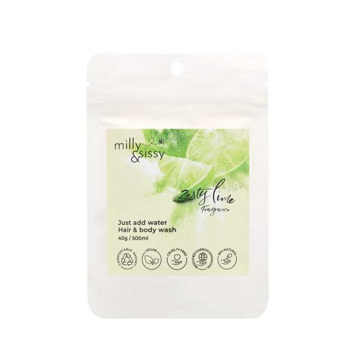 lime and and body wash refill sachet
