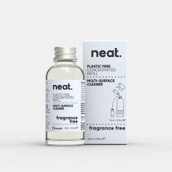 neat concentrated cleaning refill fragrance free