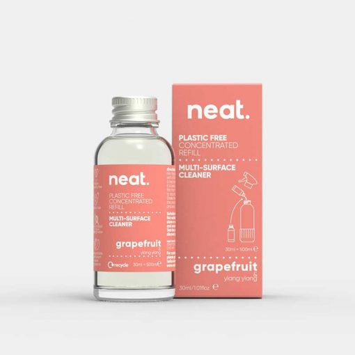 neat concentrated cleaning refill in grapefruit