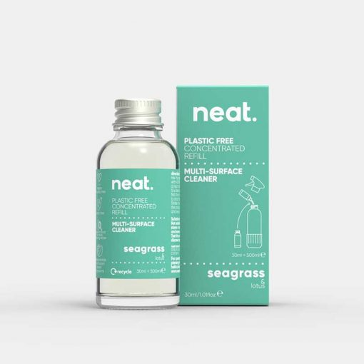 neat concentrated cleaning refill in seagrass
