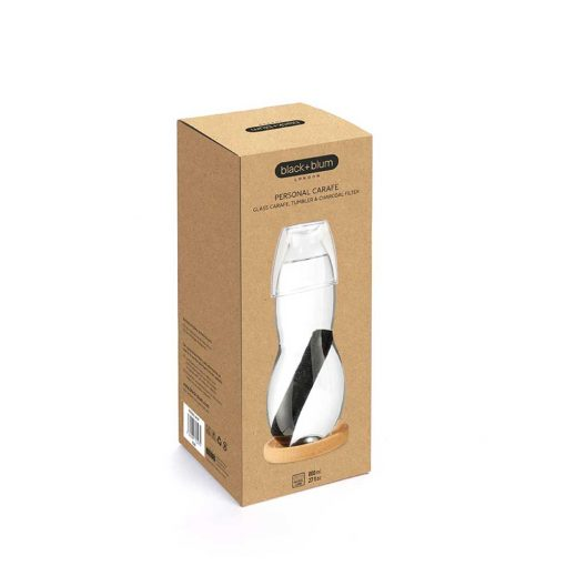 black and blum carafe in packaging