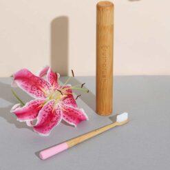 petal pink truthbrush lifestyle shot