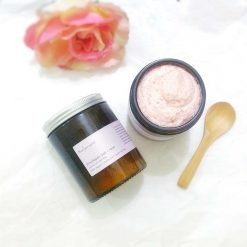 natural body polish with rosehip
