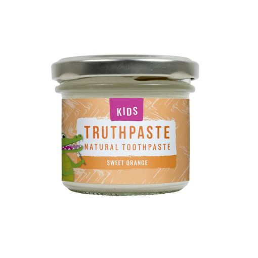 orange natural toothpaste for ids