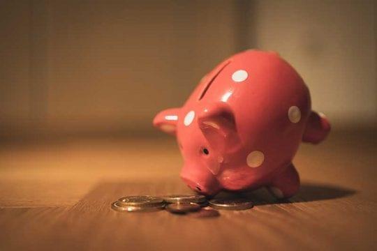 piggy bank saving money