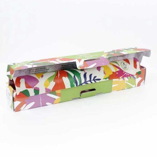 vegan wax wraps on a roll