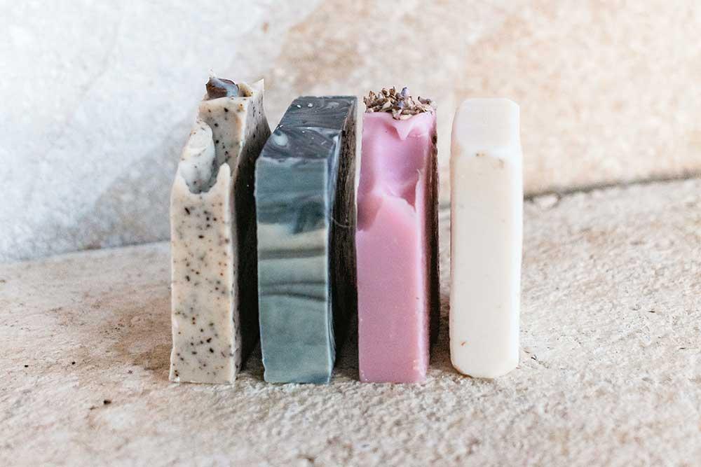 benefits of all natural soap bars blog post image