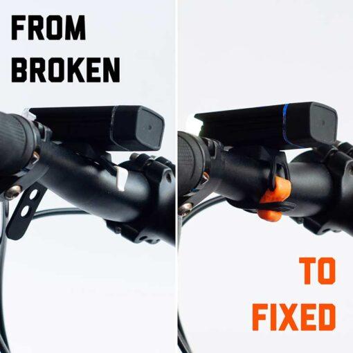 repaired bike