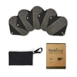 reusable sanitary towel 5 pack