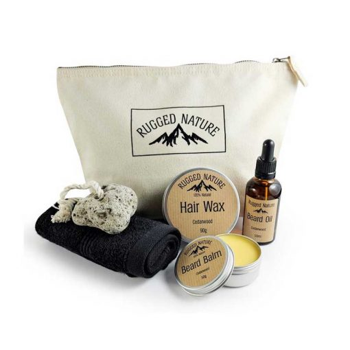 mens beauty set wash kit rugged nature