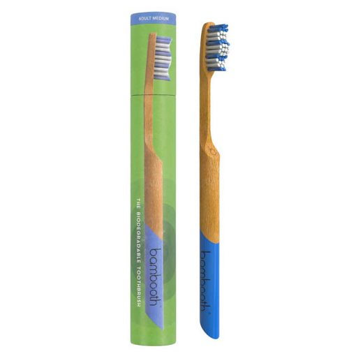 ba,booth toothbrush in sea blue