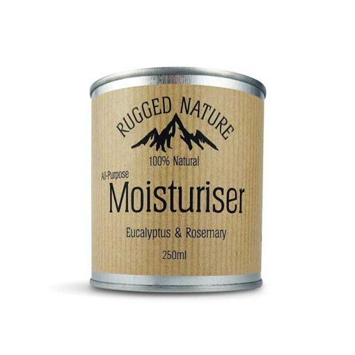 mens natural moisturiser in aluminium tin