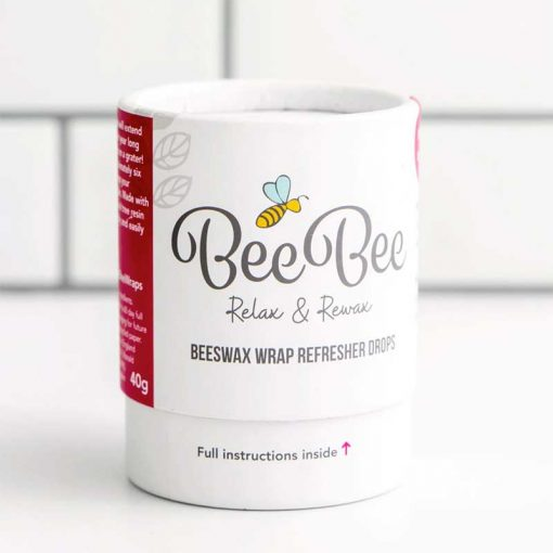 relax and rewax refresher drops beeswax