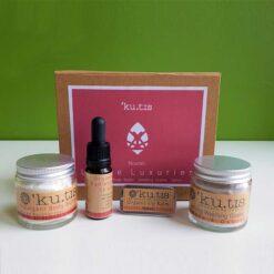 nourish little luxuries gift set