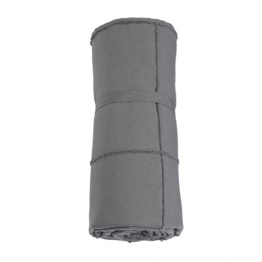 calm towel to go rolled up
