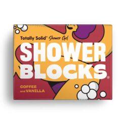 coffee and vanilla shower blocks