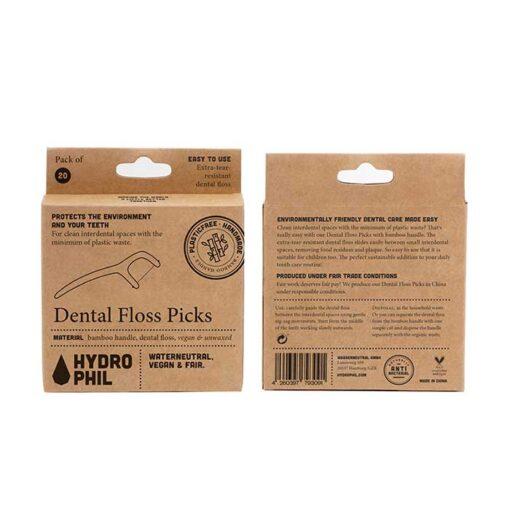 eco friendly floss sticks packaging