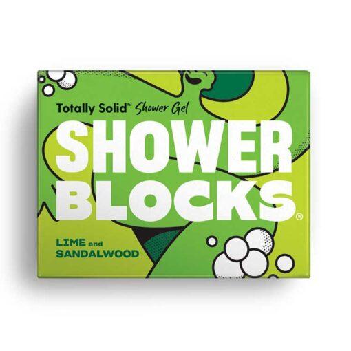 lime and sandalwood shower blocks