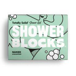 naked shower blocks