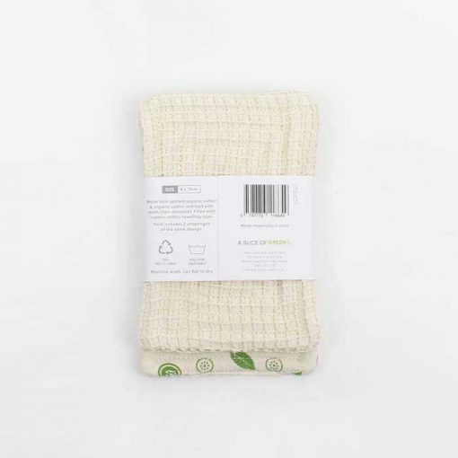 organic cotton scrub unsponge 2 pack