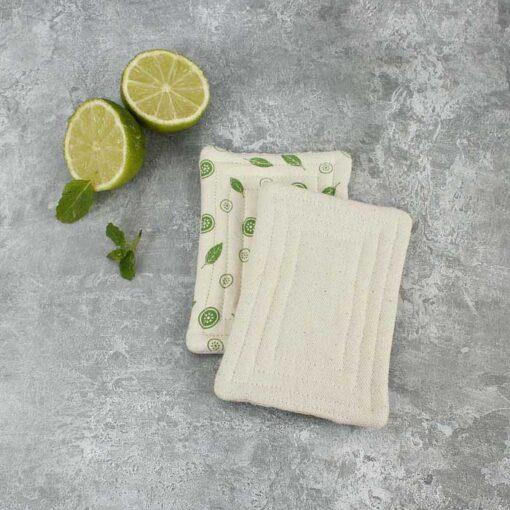 smooth unsponge pad on granite worktop