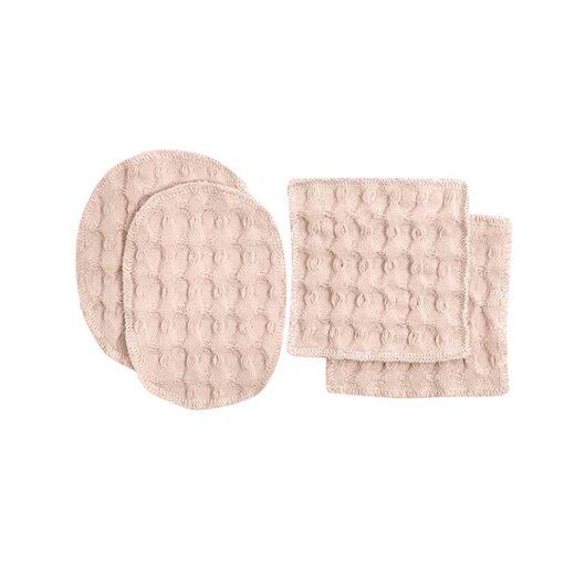 pink reusable makeup wipes