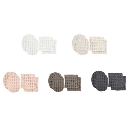 reusable makeup wipes in 7 colours