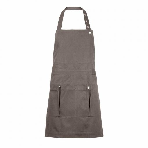clay gardening apron with pockets