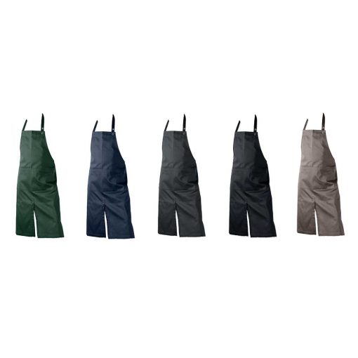 organic cotton aprons in 5 colours