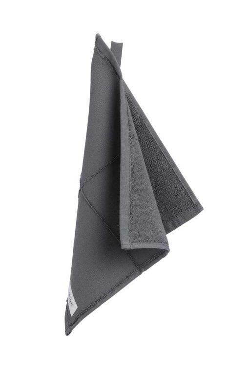 organic face cloth in grey