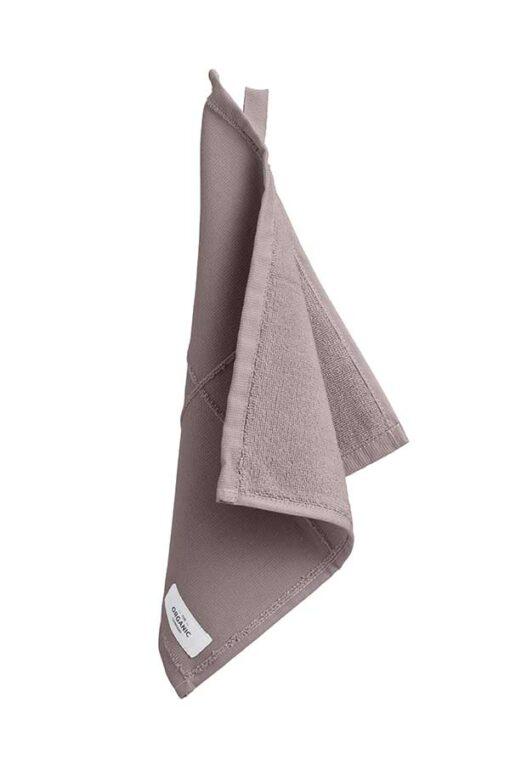 dusty lavender organic face cloth