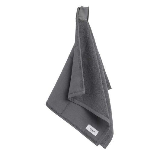 calm hand towel in grey