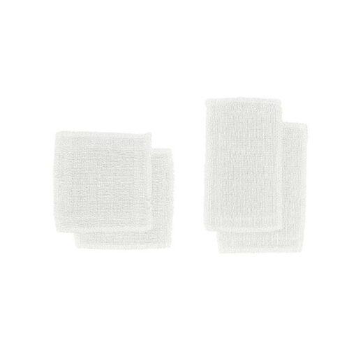 natural white organic makeup pads