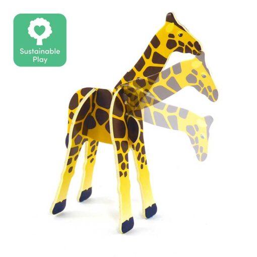 plastic free girafe toy