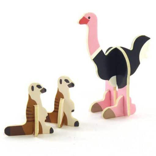 ostrich playset