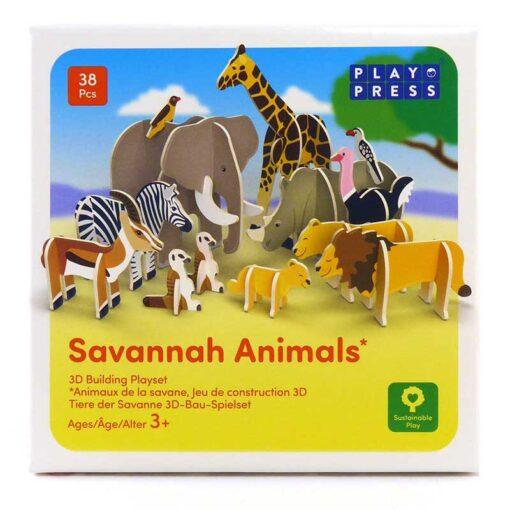 eco friendly animals playset