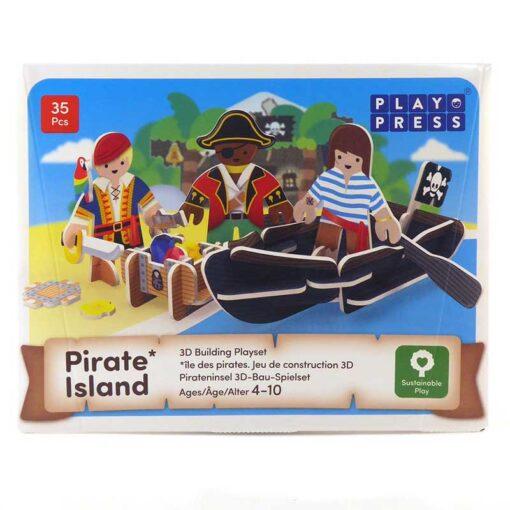 pirate playset packaging