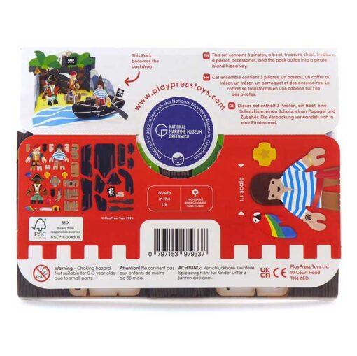 pirate playset packaging reverse