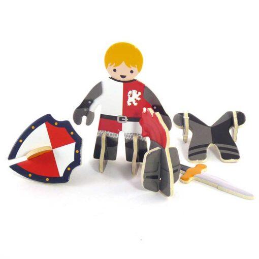 plastic free knights castle playset figure