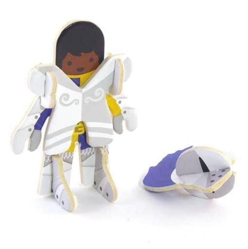 plastic free knight toy