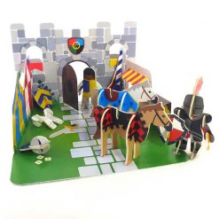 eco friendly knights castle playset