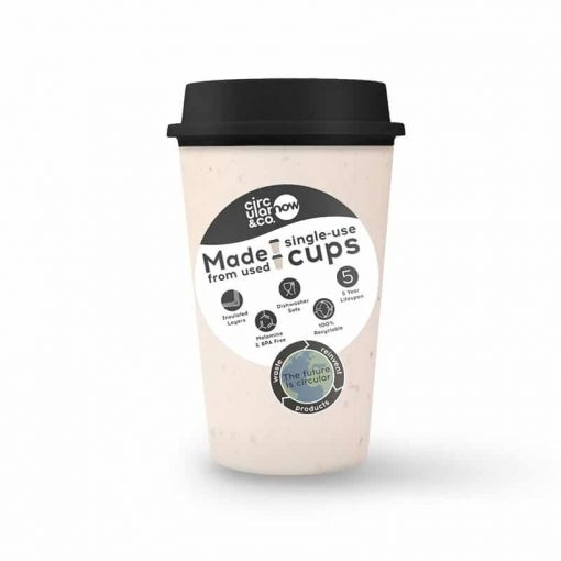 circular now cup in black